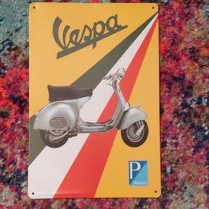 Vespa Tin Sign